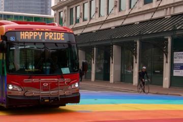 Pride Bus - Xcelsior New Flyer